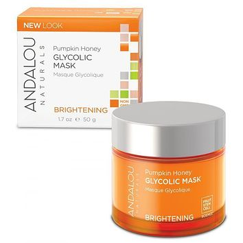 Andalou Naturals Pumpkin Honey Glycolic Brightening Mask - 1.7 fl oz