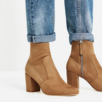 ELASTIC HIGH HEEL ANKLE BOOTS - View all-SHOES-WOMAN   ZARA United Kingdom
