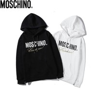 MOSCHINO Classic Casual Long Sleeve Pullover Top Sweatshirt