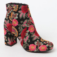 Mia Embroidered Ankle Boots at PacSun.com
