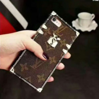 LV Hot Deal Matte Couple Phone Case For iphone 7  6plus 7 plus