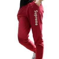 Women Harem Pants Femme Pant Print SUPREME Leggins Elastic Pantalon Trousers Plus Size