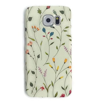 Floral iphone 6 case rose iphone 6 plus case flower iphone 5S case galaxy s6 edge iphone 4 4S case galaxy s6 S5 case LG G3 G4 Sony Xperia Z3