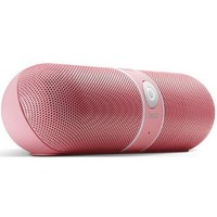Beats by Dr. Dre Pill Limited Edition Portable Speaker (Pink) Bundle Beats Cable with Microphone and Custom Designed Zorro Sounds Cleaning Cloth