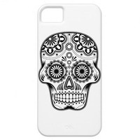Sugar Skull iPhone 5 Case from Zazzle.com