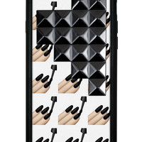 Goth Girl Black Pyramid iPhone 6/6s Case