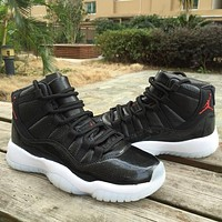 Best Seller Nike Air Jordan 11 XI Retro 72-10 Basketball Shoe Style 378037-002 AJ11