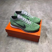 """""""Nike Flyknit Racer 1"""" Men Sport Casual Breathable Comfortable Running Shoes Sneakers"""
