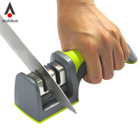 1PCS Home Utensils Gadgets Dining Cutlery & Knife Accessories Kitchen Soft-Grip Handle 2 Stage Professional Knife Sharpener