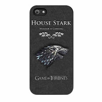 game of thrones stark cases for iphone se 5 5s 5c 4 4s 6 6s plus