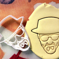 Heisenberg Breaking Bad Cookie Cutter - Made from Biodegradable Material