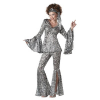 California Costumes Womens Foxy Lady Halloween Party Disco Costume