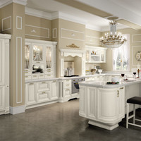 Decapé kitchen with island Pantheon Collection by Cucine Lube