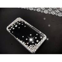 3D Bling Crystal iPhone Case for AT&T Verizon Sprint Apple iPhone 4/4S Starry Sky