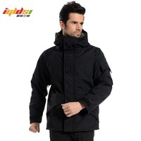 Trendy G8 Tactical Jacket Men Winter Camouflage thermal thick parka Coat Military Hooded 2in1 Jacket outwear Waterproof Windbreaker 3XL AT_94_13