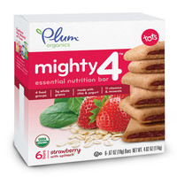 Mighty 4 Essential Nutrition Bars - Strawberry with Spinach