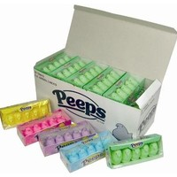 Marshmallow Peeps   Just Born   Bulk   Pink   Color   Sweet City Candy