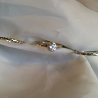 Stackable Rings with CZ - Sterling Silver