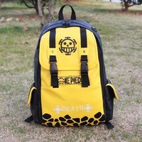 Character One piece bag cartoon backpack tomb-raiding notes silver soul ferocious giants hokage backpack LY1836