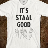 It's Staal Good-Unisex White T-Shirt