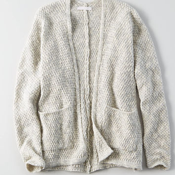 Don't Ask Why Chunky Cardigan, Gray
