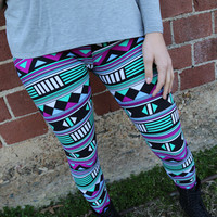 Indian Summer Leggings {Multi}