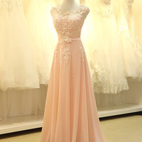Grecian Modest Lace Chiffon Formal Prom Pageant Evening Dress