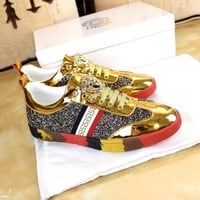 VERSACE Fashion Casual Shoes Sneakers 004