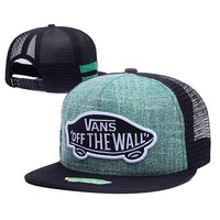 Perfect VANS Women Men Embroidery Sports Hip Hop Baseball Cap Hat