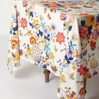 """Heredia Tablecloth by Anthropologie in Multi Size: 72"""" X 120"""" Kitchen"""