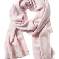 Banana Republic Todd & Duncan Plaited Cashmere Scarf Size One Size - Cherry blossom pink