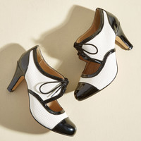 Amped for a Revamp Heel in Black | Mod Retro Vintage Heels | ModCloth.com