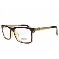 Gucci Women Optical Clear Lens Fashion Brand Designer Eyeglasses Glasses