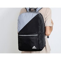 Adidas Fashion Men and Women's Universal Colour Colouring Hot Backpack Travel Shoulder Bags