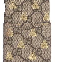 GUCCI Printed coated-canvas iPhone case