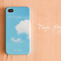Apple iphone case for iphone iphone 5 iphone 4 iphone 4s iPhone 3Gs : cloud and blue sky