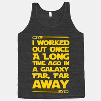 I Worked Out Once a Long Time Ago...