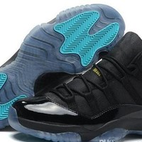 Gamma Blue XI Basketball Shoes Men Womens New Fashion Sports Shoes Discount Good Quality Retro 11(XI) Bred Concord Space Jam Legend Sneakers