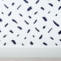 Brushstroke Surestrip Wallpaper, 3'x9'