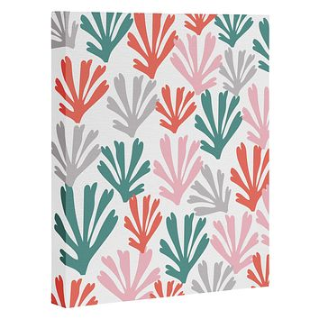 Zoe Wodarz Scattered Coral Art Canvas