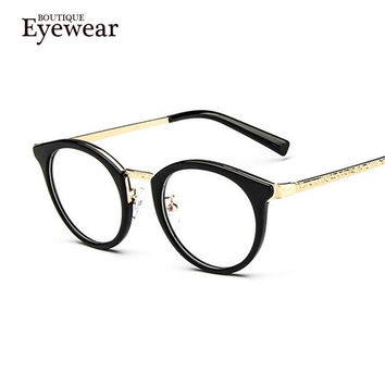 BOUTIQUE new men and women's fashion metal legs glasses women glasses