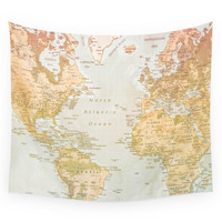 Society6 Pastel World Wall Tapestry