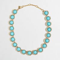 FACTORY STONE SEMICIRCLE NECKLACE