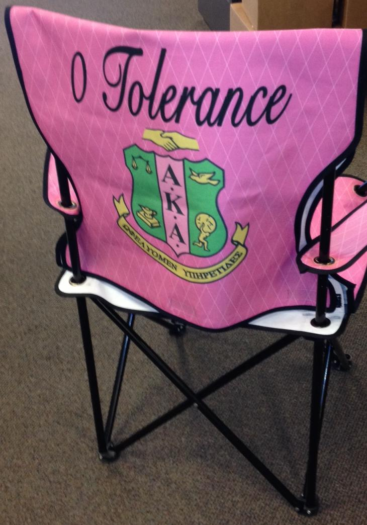 Aka Lawn Chair Alpha Kappa Alpha Folding From Designs By Dee S