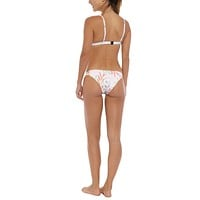 Low Rise Cheeky Bikini Bottom - Desert Pink Floral Print