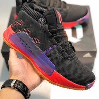 Adidas Dame 5 'All Skate' cheap Men's and women's adidas shoes