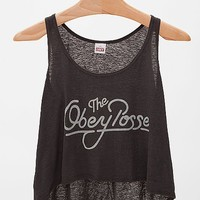 OBEY Good Vibes Break Up Tank Top