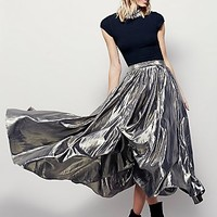 Free People Womens Lost In Light Skirt