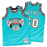 Bryant Reeves Vancouver Grizzlies 1996 - 1997 Authentic Jersey - Mitchell & Ness Nostalgia Co.