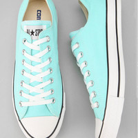 """""""Converse"""" Fashion Canvas Flats Sneakers Sport Shoes Light green"""